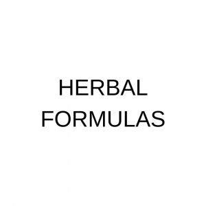 Herbal Formulas
